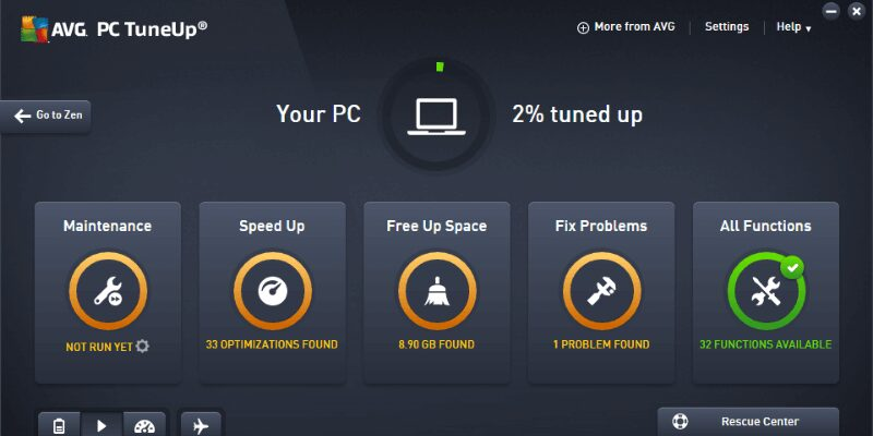 AVG TuneUp 21.3 Free Download 2021